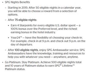 SPG Night Benefits 2015