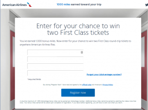 Enter For Your Chance To Win Two First Class Tickets