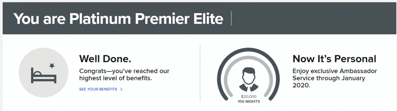 Platinum Premier Elite - Ambassador Service