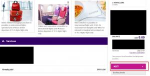 Thai Airways - Confirm seat changes